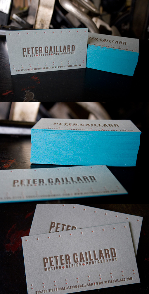 French Blue Letterpress Cards Filetterpress Pictures Photos and Images Gallery Peter Gaillard French Blue Letterpress Cards Business Cards Designed by Filetterpress