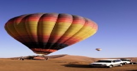 Dubai Special Interest Tours, Hot Air Balloon Fly