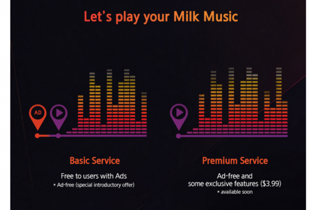 milk 730x487 Samsung hints that Milk Music will soon include ads, and offer a $3.99/month premium service