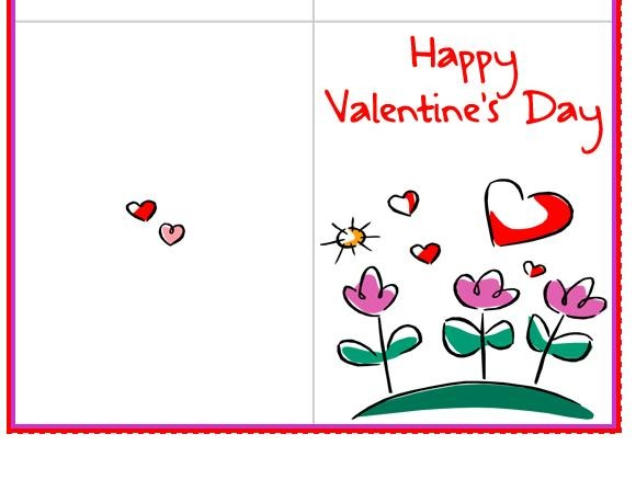 Printable Valentine Card Craftbnb – Free Valentines Day Printable Cards