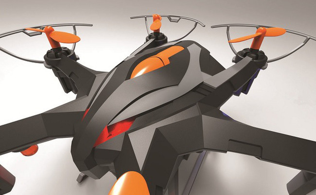 Hexacopter Drone with 2MP camera