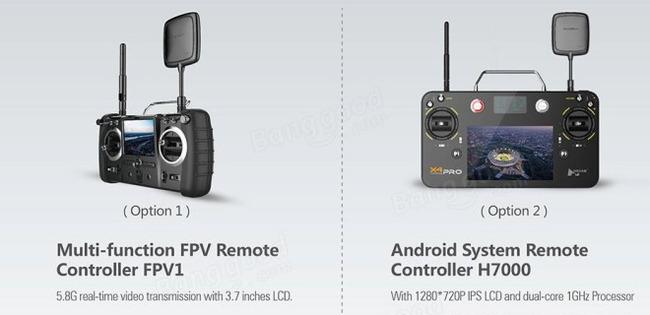 New Drone Remote Controls