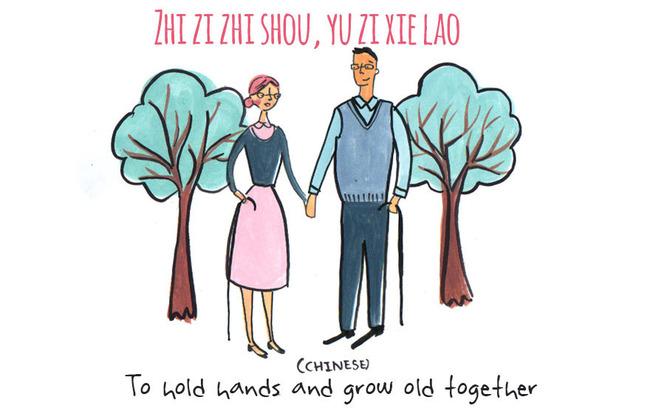 Zhi Zi Zhi Shou, Yu Zi Xie Lao