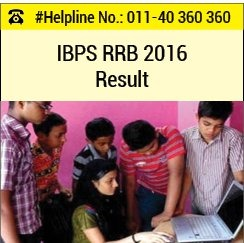 IBPS RRB 2016 Result