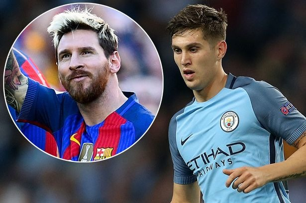 John Stones will put worship of his hero Lionel Messi aside.