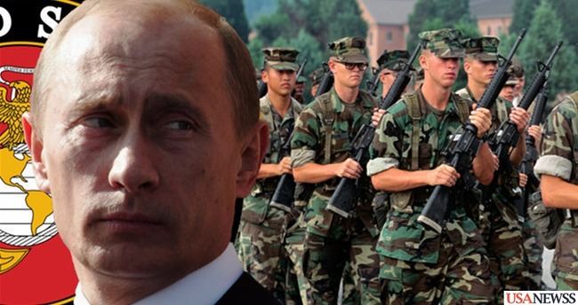 US top marines deployed in fear of war with Russia.