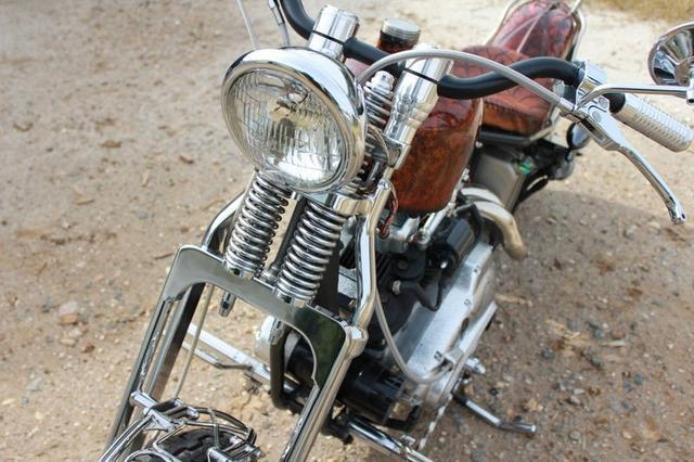 1977 Custom Harley Davidson
