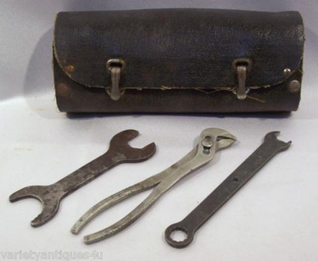 Antique Motorcycle Toolkit
