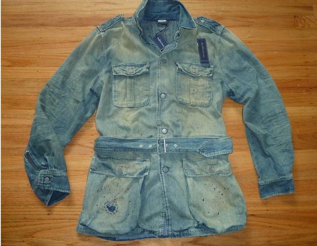 ralph vintage safari jacket bureau of trade