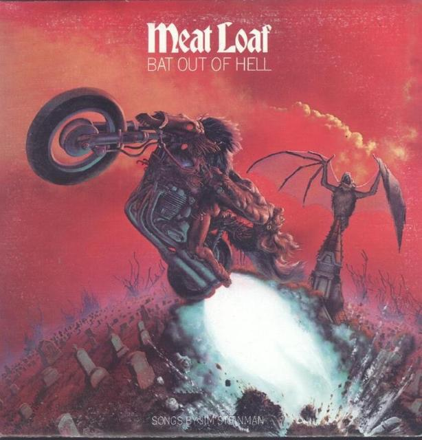 Meat Loaf: <i>Bat Out Of Hell</i> LP
