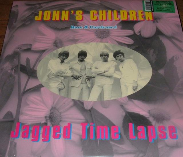 John's Children — <i>Jagged Time Lapse</i> (feat. Marc Bolin from T-Rex)