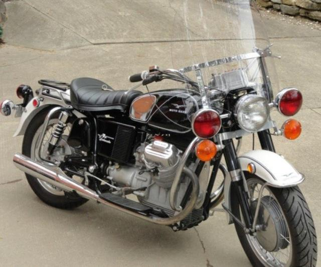 1970 Moto Guzzi Ambassador Police 750