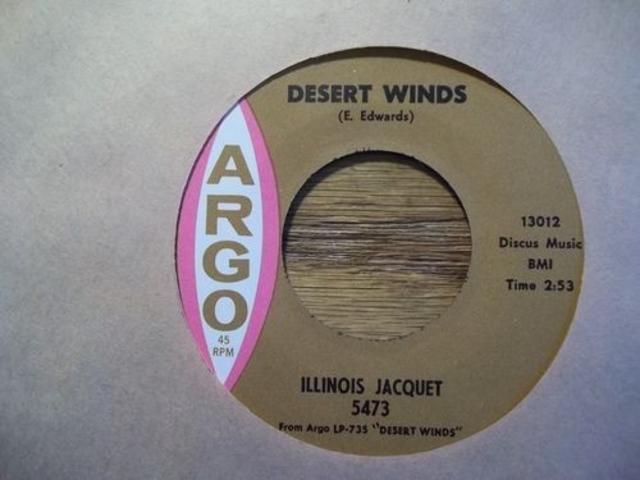 <i>Desert Winds</i> — Illinois Jacquet