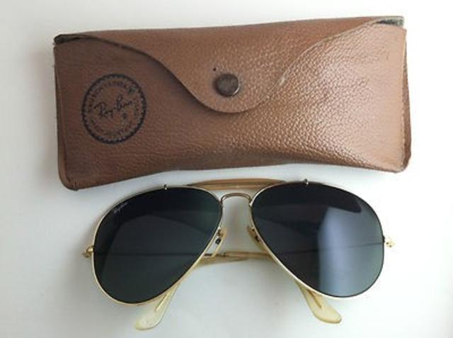 ray ban sunglasses aviator vintage  vintage ray ban aviator sunglasses price