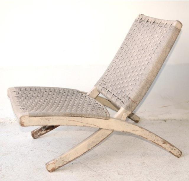Folding Rope Chair