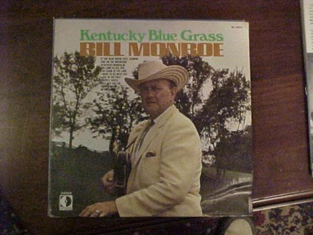 Bill Monroe – <i>Kentucky Blue Grass</i>
