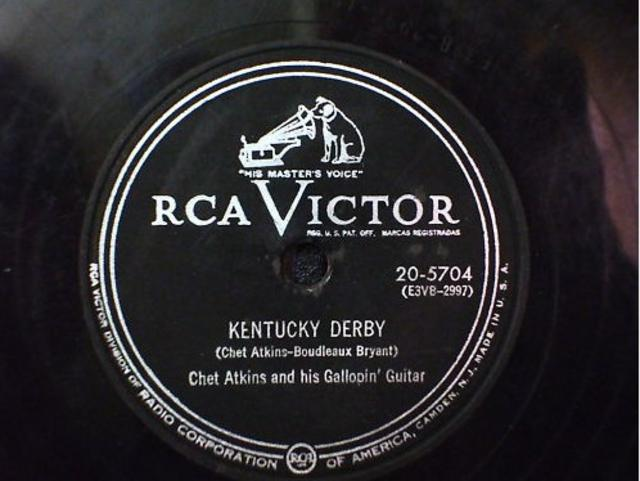 Chet Atkins and his Gallopin' Guitar – <i>Kentucky Derby/Downhill Drag</i>