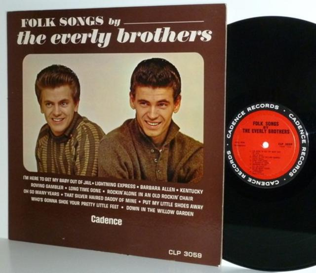 <i>Folk Songs by the Everly Brothers</i>