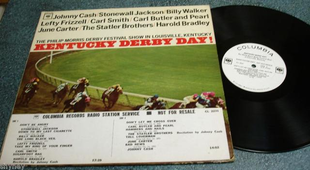 Johnny Cash, Lefty Frizzell, June Carter and others – <i>Kentucky Derby Day!</i>
