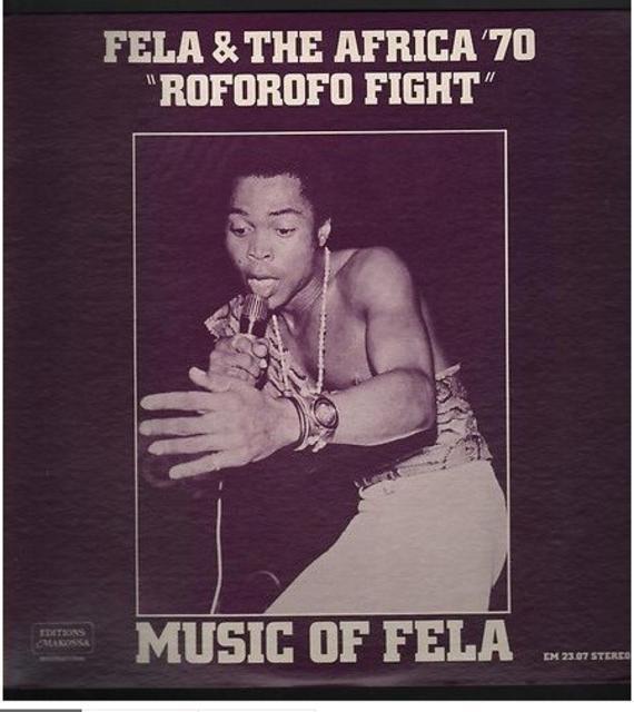 Fela Kuti LP