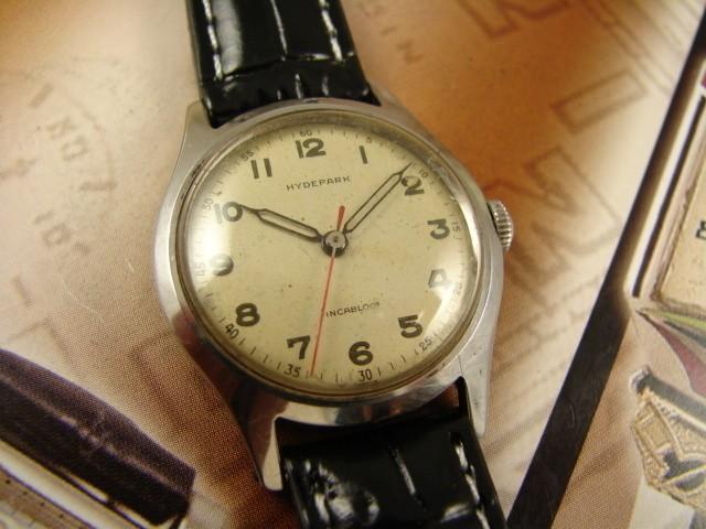 Rare WWII-Era Swiss Radium-Dial  Watch