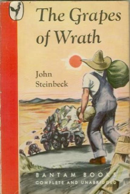 a literary analysis of the migratory farm families of america in the grapes of wrath by john steinbe In the grapes of wrath, john steinbeck under which the migratory farm families of america in the grapes of wrath as a major literary.