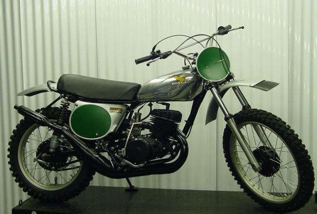 1974 Honda CR Motocross Bike
