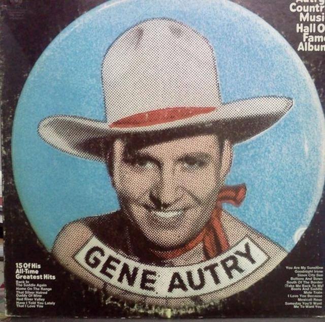 Gene Autry's Country Music Hall Of Fame Album