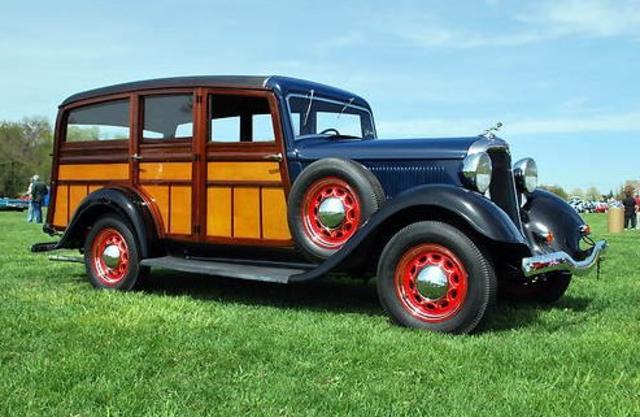 1935 Dodge Westchester Wagon