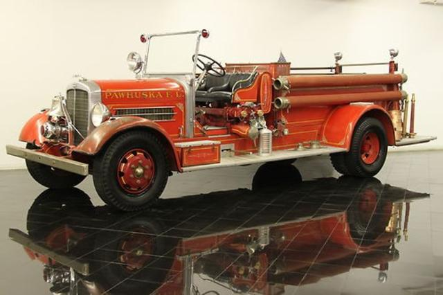 1936 Pirsch & Sons Co. Fire Truck
