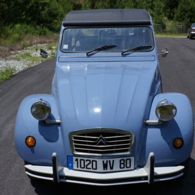 1977 Citroën Deux Chevaux