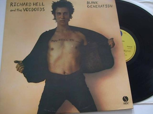 Richard Hell and the Voidoids, <i>Blank Generation</i>, 1977