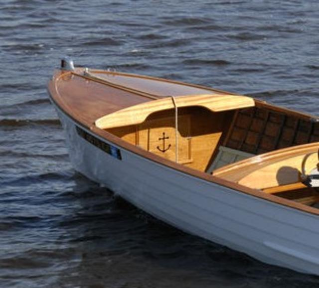 1956 Wood Lyman 15-Foot Boat