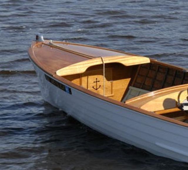1956 Wood Lyman 15-Foot Boat