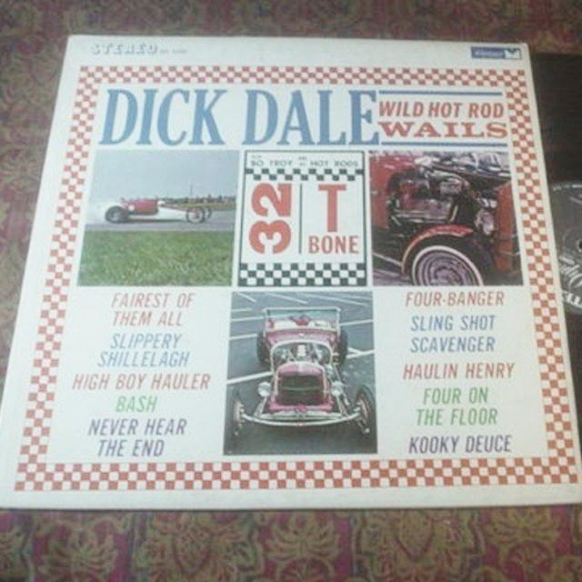 Dick Dale, <i>Wild Hot Rod Wails</i> LP