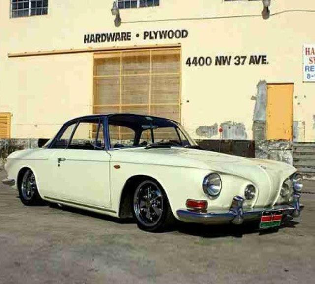 1965 Type 3 Karmann Ghia