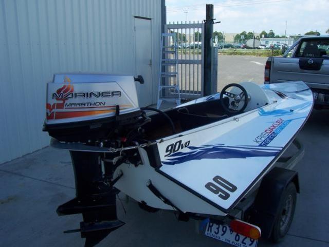 Komarine Race Boat