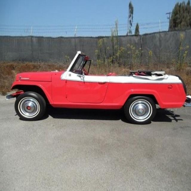 1967 Jeepster Convertible
