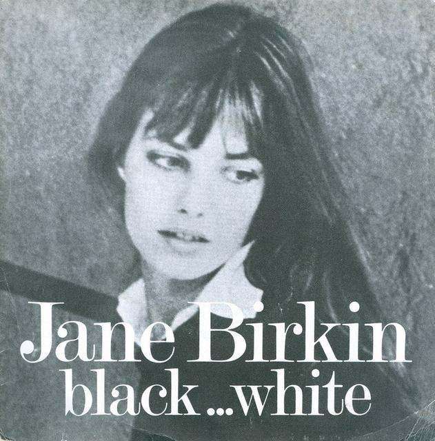 Jane Birkin, <i>black … white</i>, 1974