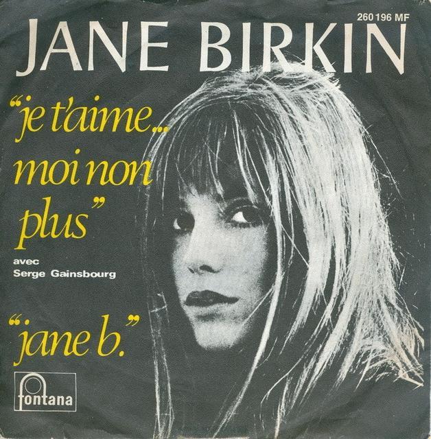 Jane Birkin <i>jane b.</i> LP