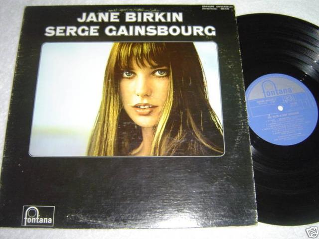 Jane Birkin / Serge Gainsbourg LP