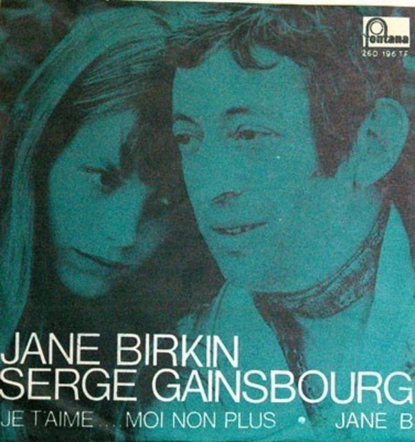Serge Gainsbourg/Jane Birkin, <i>Je T'Aime ... Moi Non Plus/Jane B.</i>, 1969