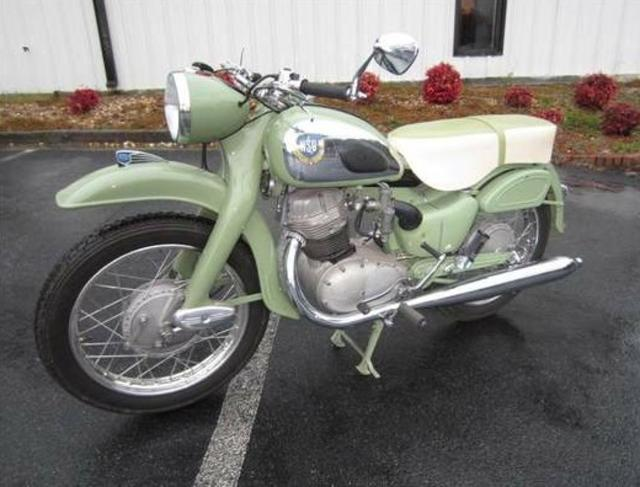 1957 NSU Max Motorcycle