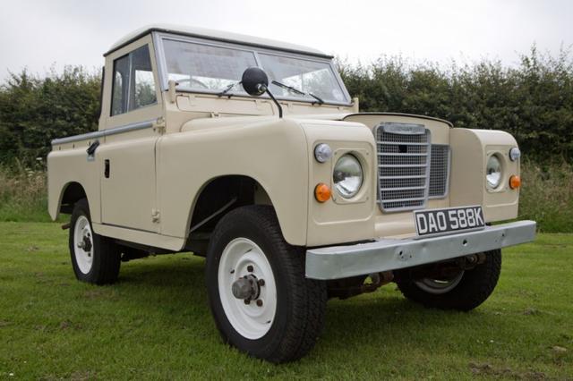 Restored Land Rover Series 3