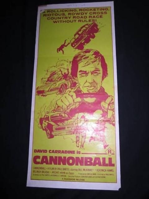 Australian cannonball movie poster bureau of trade for Bureau 13 movie