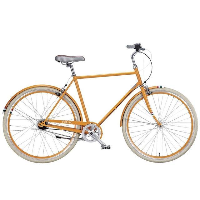 Orange Public Bike