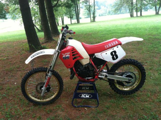 1986 Yamaha YZ