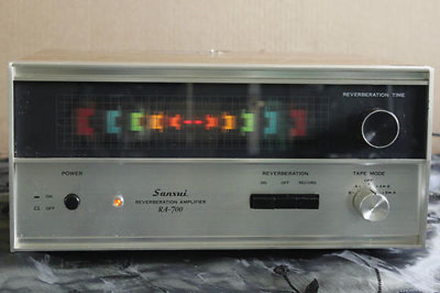 Sansui Reverberator Amplifier