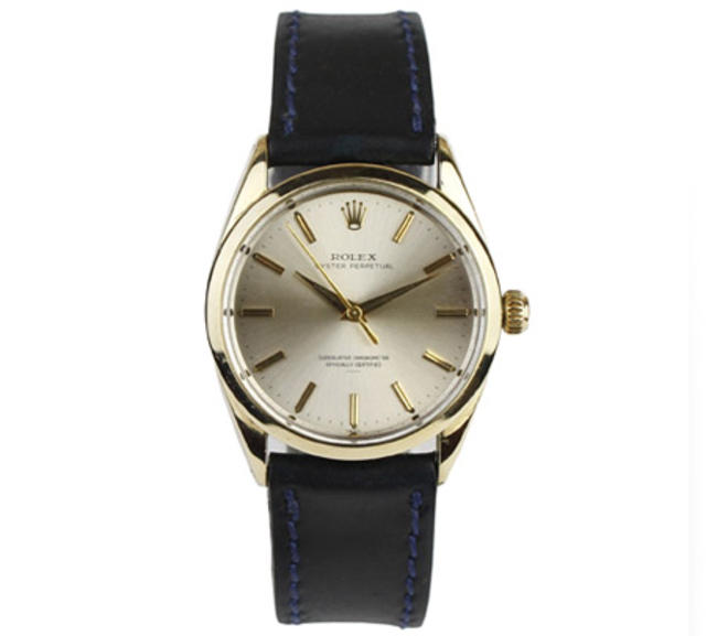 1960 Gold-Covered Stainless Steel Oyster Perpetual