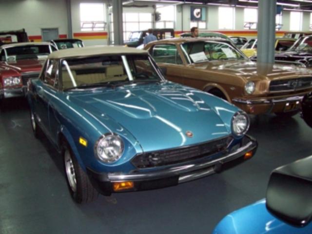 1981 Fiat Spider Pininfarina
